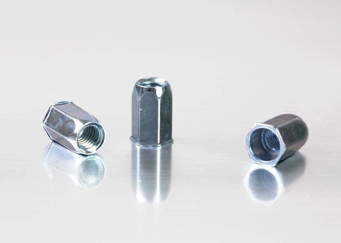 小头全六角碳钢铆螺母